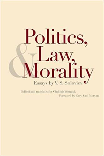 politics law and morality essays by v s soloviev v s soloviev politics law and morality essays by v s soloviev v s soloviev vladimir wozniuk 9780300212037 com books