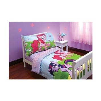 Amazon.com: My Little Pony Amigos bebé ropa de cama (4 ...