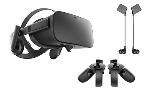 Video Games : Oculus Rift 3 Items Bundle:Oculus Rift Virtual Reality Headset,Oculus Touch and Oculus Rift Earphones