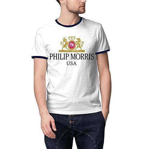 Man Cotton Philip-Morris-Cigarette-USA-Comfortable Tee Shirt