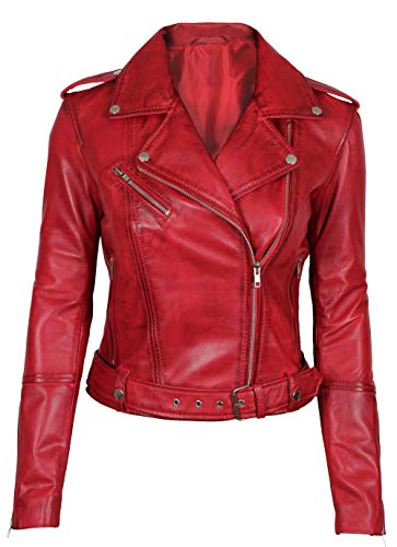 Blingsoul Women Ladies Leather Jacket | [1300392] Mary, S