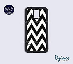 Galaxy Note 2 Case - Black White Chevron