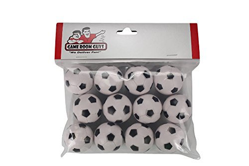 Dynamo Ball - Game Room Guys 12 Soccer Ball Style Foosballs for Tornado, Dynamo or Shelti Tables