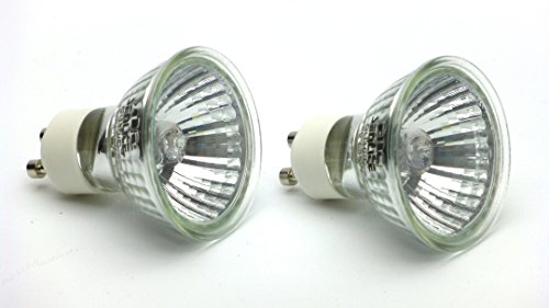 Product image of Carolina Custom Cages 35w GU10 Halogen Reptile Basking Bulbs, set of 2 bulbs