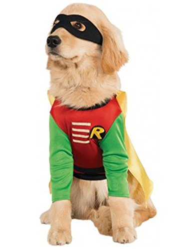 DC Comics Teen Titans Pet Costume, Medium, Robin]()