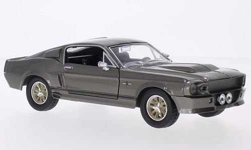 Ford Mustang Shelby GT500, metallic-grey/black, Gone in