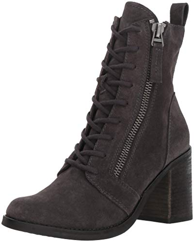 Dolce Vita Women's LELA Ankle Boot, Anthracite Suede, 8.5 M US from Dolce Vita