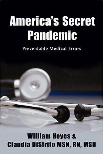 Book America's Secret Pandemic
