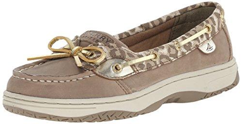 Sperry Top-Sider Angelfish Boat Shoe , Greige/Leopard, 12.5