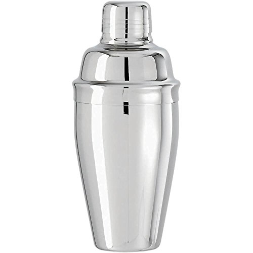 Paderno World Cuisine Cocktail Shaker, 0.73 Qt Stainless Steel ()
