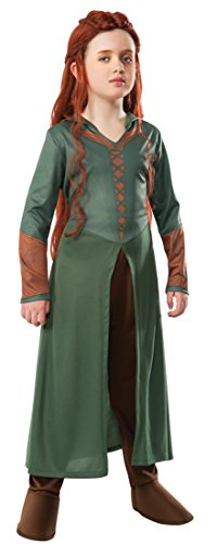 Tauriel The Hobbit Costume (The Hobbit: Desolation of Smaug, Child Tauriel Costume, Large - Large One Color)