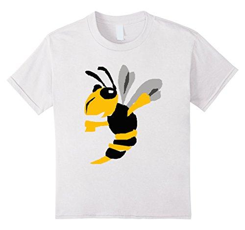 Kids Smiletodaytees Cool Yellow Jacket Cartoon T-shirt 8 ...
