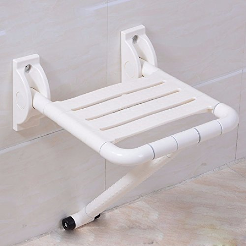 MDRW-Safety Handrail Barrier Free Folding Bathroom Chair Bath Chair Disabled Person Bathroom Shower Stool Safety Antiskid Bath Chair by Olici