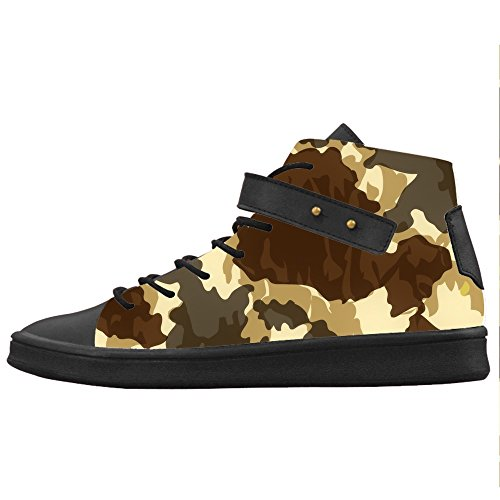 Custom camuffamento Womens Canvas shoes Le scarpe le scarpe le scarpe.