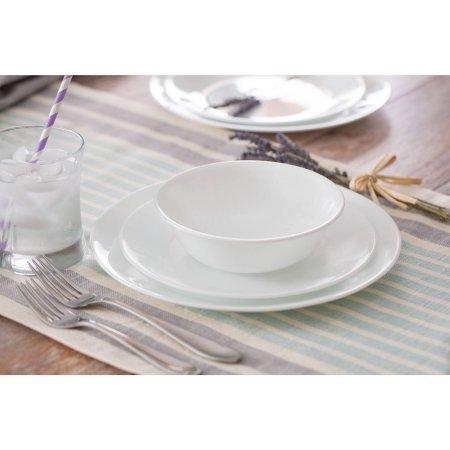 Corelle Livingware Winter Frost 32-Piece Dinnerware Set, Service for 8 (Corelle 6022003 compare prices)
