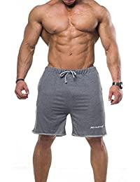 Jed North Men's Athletic Sweat Shorts for Gym & Bodybuilding