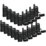 Retevis RT22 Walkie Talkies VOX 16CH FRS Radio CTCSS/DCS 2 Way Radios (20 Pack)