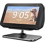 Adjustable Stand for Echo Show 5, Aluminum 360 Degree Swivel Rotatable Holder for Echo Show 5, Easily Tilt Your Echo Show 5 Forward or Backward to Improve Viewing Angle