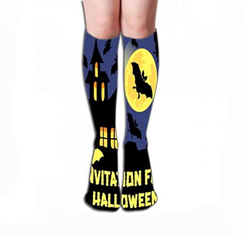 YILINGER Women's Tube Stockings Athletic Crew Socks 19.7