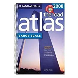 Rand McNally Road Atlas Large Scale United States Rand - Road atlas of usa