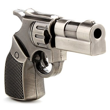 TJ 16 GB Metal Gun shape USB Flash drive