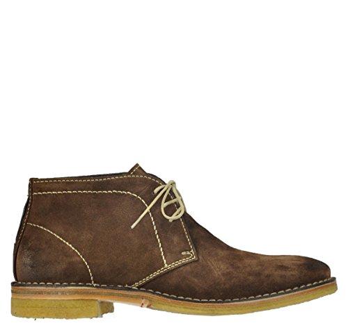 Wolky Comfort Boots Gibson 431 mittelbraun geöltes Suede