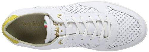 Pantofola d'Oro Ebice - Zapatillas Hombre Blanco - Weiß (Bright White)