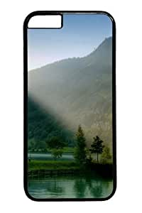iphone 6 4.7 Case, iphone 6 4.7 Cases -Lake And Trees On The Valley PC case Cover for iphone 6 4.7 inch BlackKimberly Kurzendoerfer