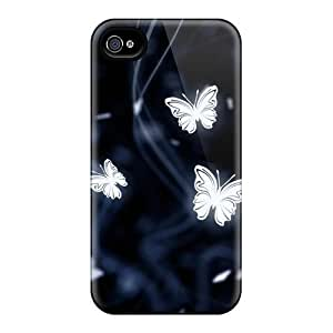 KevinCormack Iphone 6plus High Quality Hard Phone Case Custom Trendy Butterfly Skin [RPE4810WBVd]