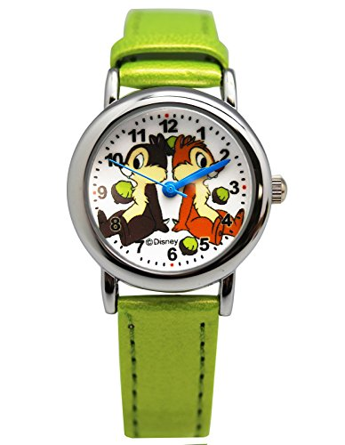 Disney's Chip n' Dale Green Colored Band Watch (25mm)