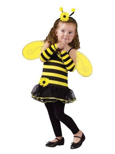 [Honey Bee Costume - Toddler Small] (Cute Honey Bee Costumes)