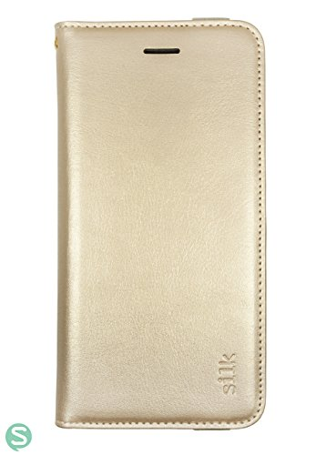 Silk Galaxy S7 Wallet Case - Folio Wallet Case for Galaxy S7- Protective Portfolio Cover with Foldable Kickstand (Platinum Gold) by Silk (Image #6)