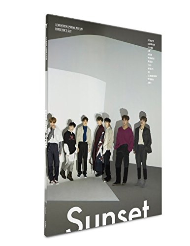 SEVENTEEN - Director's Cut [SUNSET ver.] (Special Album) CD+Photocards+Folded Poster+Free (Best Poster Directors Posters)