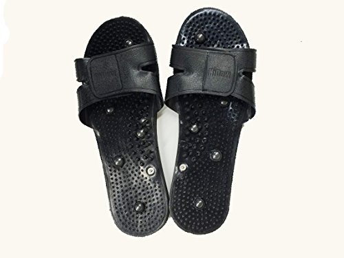 IQ Massage Slippers Massage Shoes for Most Snap on Massagers. Will Work on Iq, Hi Dow, Eliking, Ismart, and Pinook Snap Units. by IQ massage