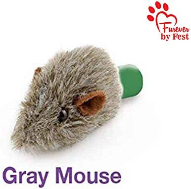 Furever 3 Replacement Cat Toy Attachments to use with The Pop and Play; Includes One Mouse, One Fish and One Feather. Ideal for Your cat, Interactive Way. Best Cat Toys Ever 5
