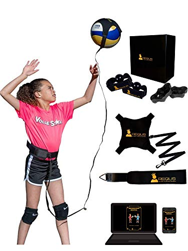 Regius Volleyball Training Equipment | Perfect for Beginners Training Solo, Serving, Setting and Spiking