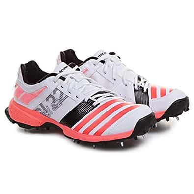 Adidas White Cricket Shoe For Men