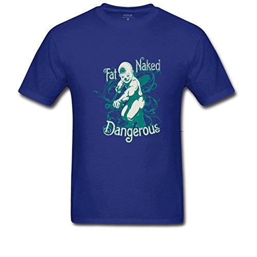 Dangerous Men's Beefy T Shirt XXL Royal Blue ()