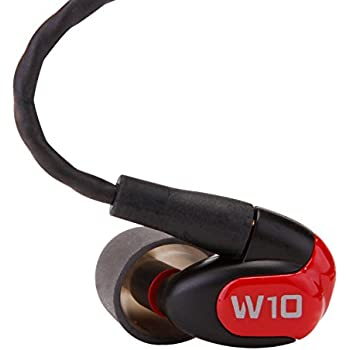 Westone W10 Single-Driver True-Fit Earphones with MMCX Audio Cable and 3 Button MFi Cable with Microphone