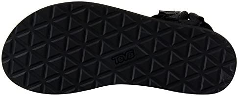 [ テバ ] フットウェア オリジナルユニバーサル 24cm ブラック 1003987-BLK ウィメンズ サンダル [並行輸入品]