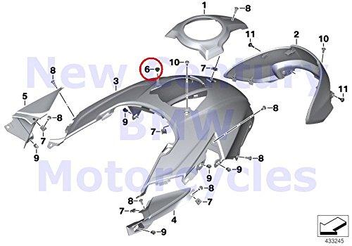 3 x BMW Genuine Motorcycle Rubber Grommet S1000XR R1200GS R1200GS Adventure R1200RT R1200R F800R -  BMW8532168_3