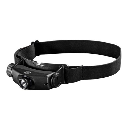 SureFire Maximus Rechargeable Variable-Output LED Headlamp Color: Black Size: One Size Model: HS3-A-BK