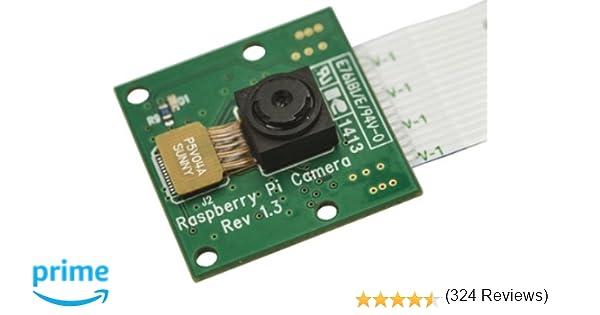 Amazon.com: Raspberry PI 5MP Camera Board Module: Computers ...