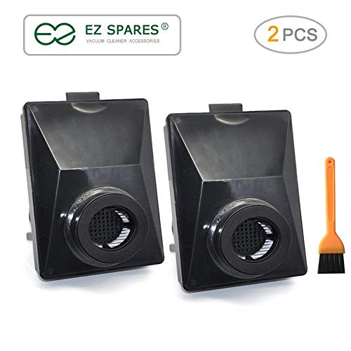 EZ SPARES 2 Pcs Replacement for Rainbow E2 HEPA Style Filters Fits E2-Series, Compatible with Part # R12179 & R12647B Attachment Washable & Reusable