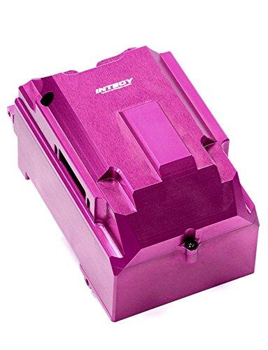 Hpi Radio Box (Integy RC Model Hop-ups T6718PURPLE Billet Machined Radio Box for HPI Savage X 4.6 2011, Flux & Savage XL)