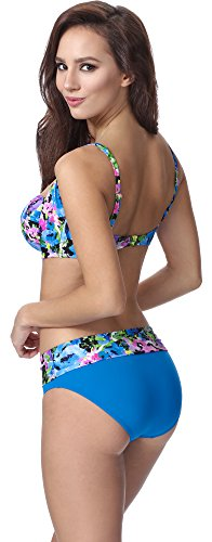 Feba Mujer Moldeadora Cuerpo Bikini F13 2 Patrón-319