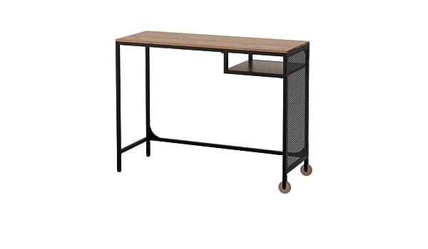 IKEA fjällbo portátil mesa – madera/negro: Amazon.es: Oficina y ...