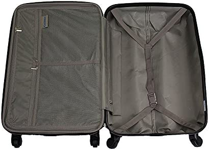 Chariot Cat Pilots 3-piece Hardside Lightweight Spinner Luggage Set, One Size