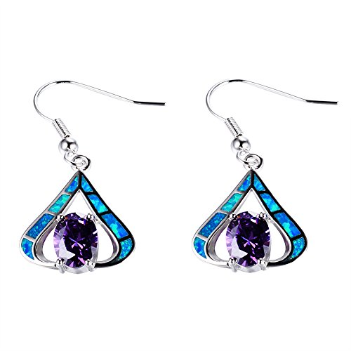 Jewelry Earrings Rainbow Diamond Promise