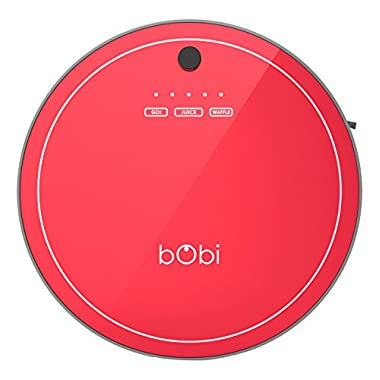 bObsweep Bobi Pet Robotic Vacuum Cleaner and Mop, Scarlett